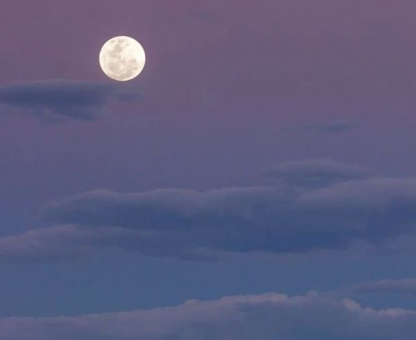 Downloading Light - Super Moon photo by Loren Mariani