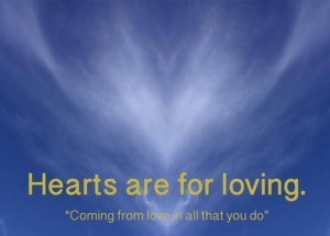 """Hearts are for loving"" - workshop Sun 25 June, Sydney"