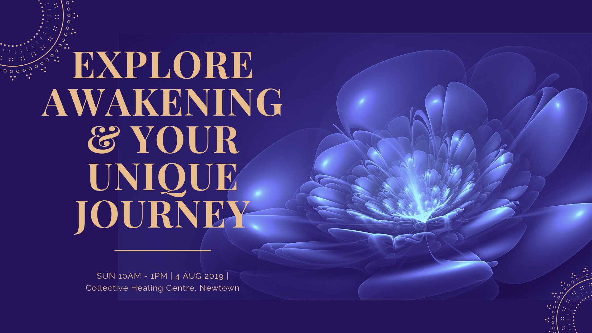 Explore Awakening & Your Unique Journey worksop image.